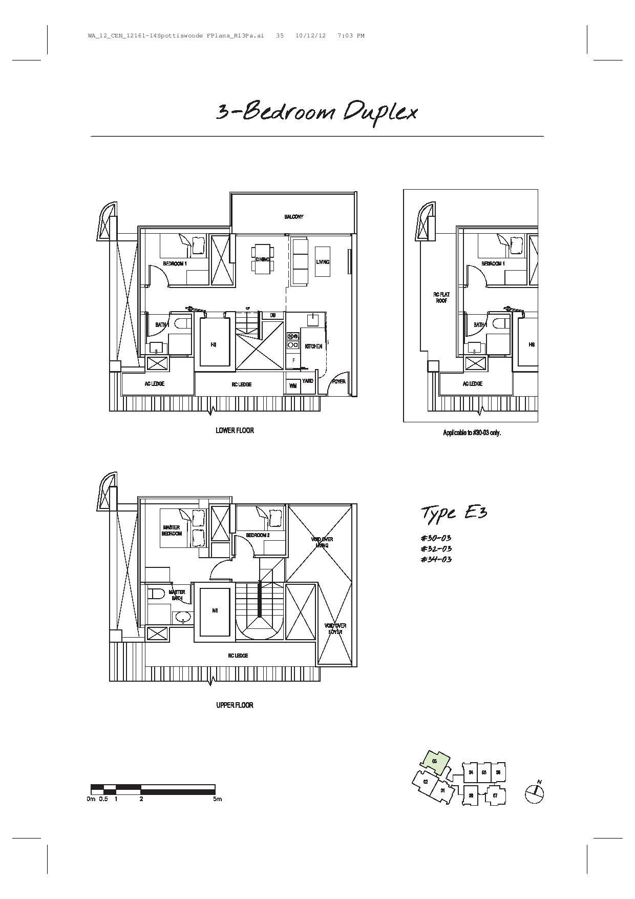 3 bedroom duplex spottiswoode suites for Duplex floor plans 3 bedroom